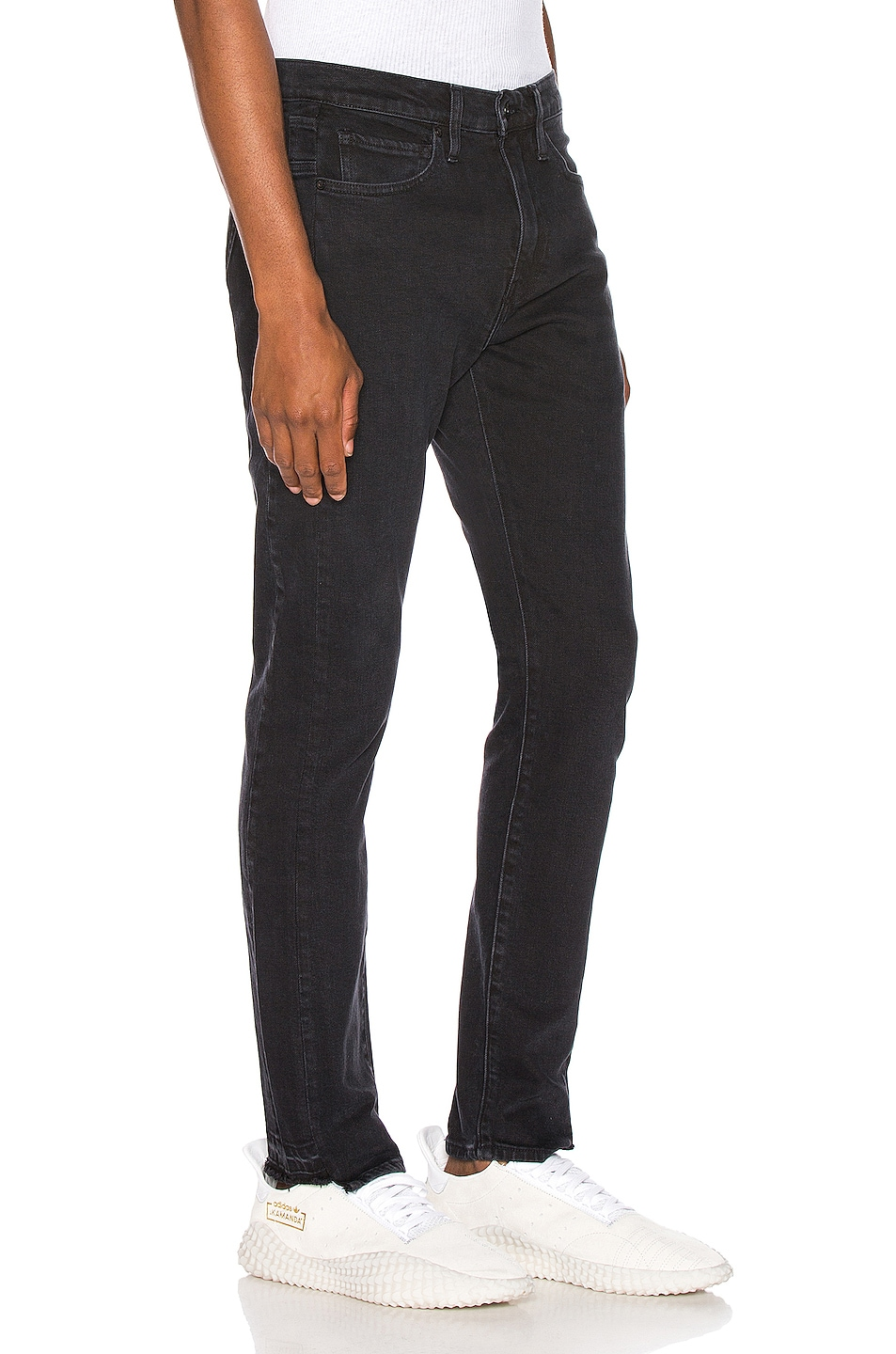 Image 2 of LEVI'S: Made & Crafted 510 Skinny Jean in Pieced Double Black
