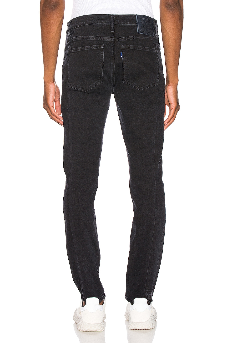Image 3 of LEVI'S: Made & Crafted 510 Skinny Jean in Pieced Double Black