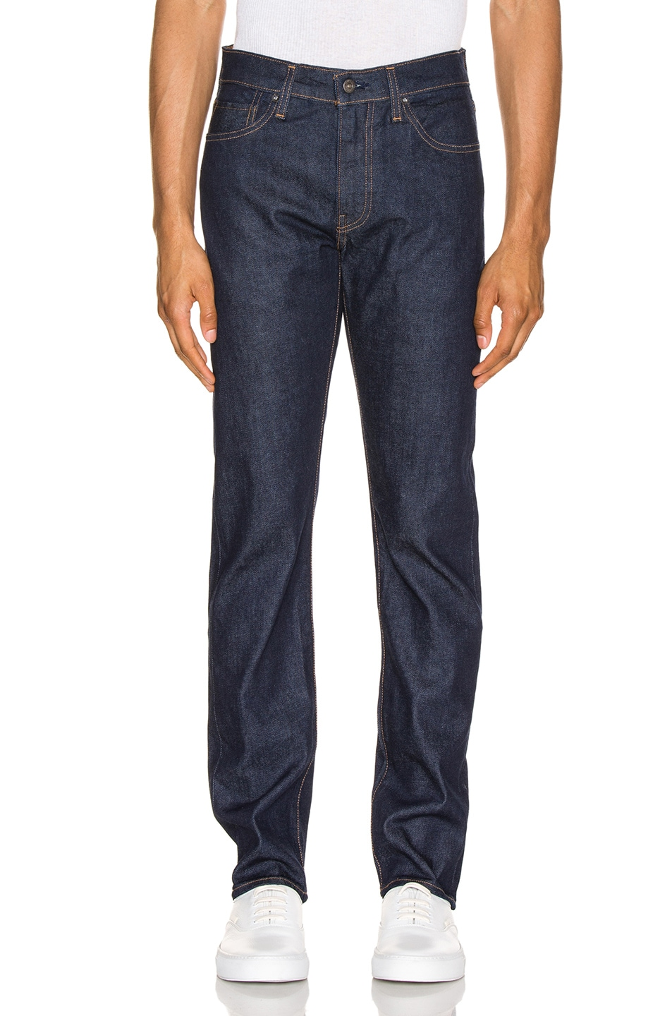 Image 1 of LEVI'S: Made & Crafted 511 in Resin Rinse Stretch Selvedge