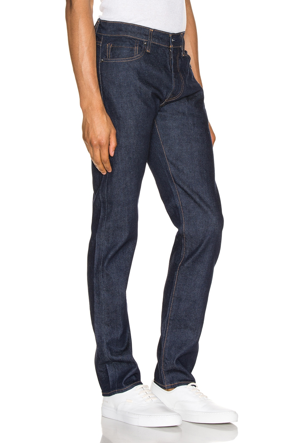 Image 2 of LEVI'S: Made & Crafted 511 in Resin Rinse Stretch Selvedge