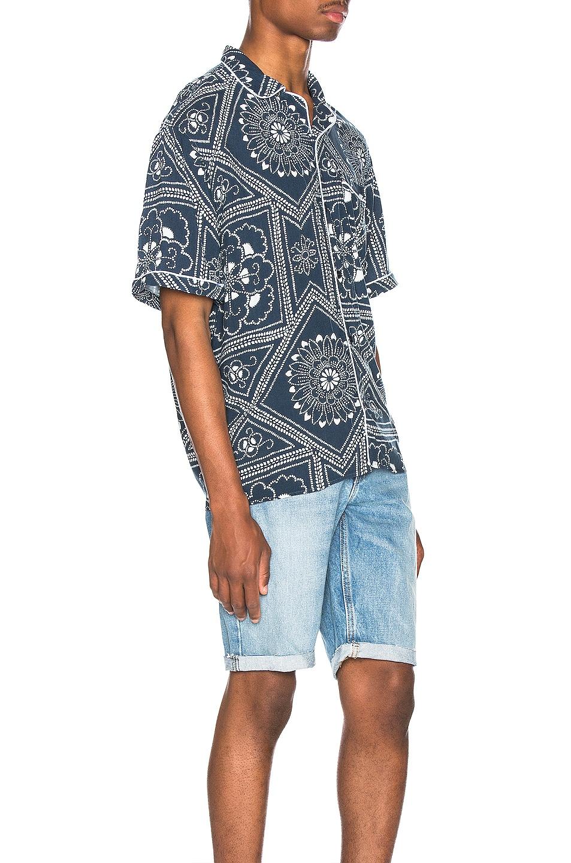 Image 2 of LEVI'S: Made & Crafted Pajama Shirt in Bandana Blues