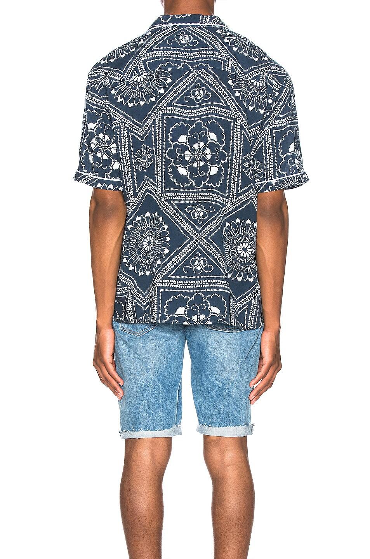 Image 3 of LEVI'S: Made & Crafted Pajama Shirt in Bandana Blues