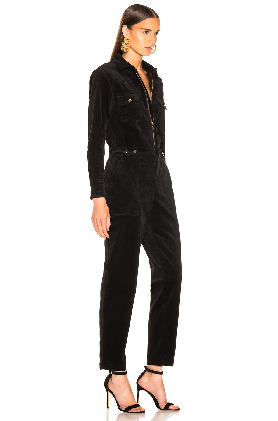 Image 2 of LAUREL & MULHOLLAND Albatross Jumpsuit in Black