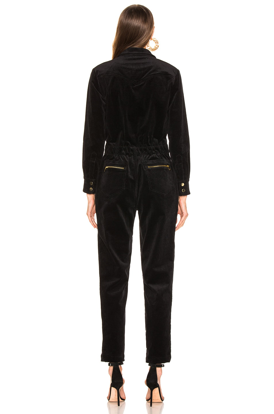 Image 3 of LAUREL & MULHOLLAND Albatross Jumpsuit in Black