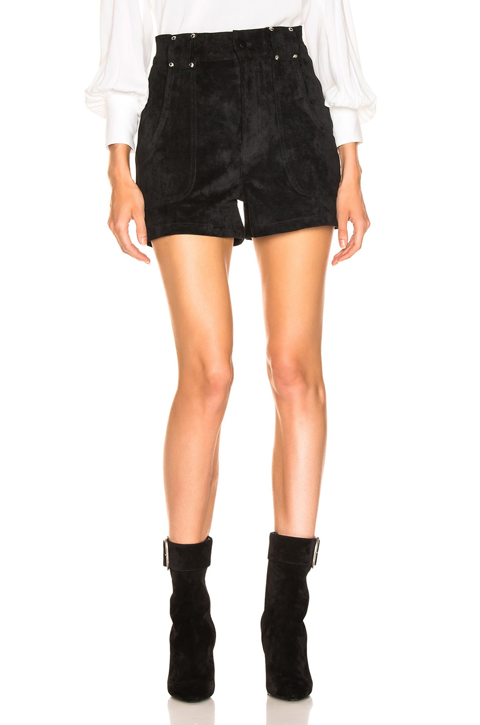 Image 1 of LAUREL & MULHOLLAND Forever Young High Waist Short in Black