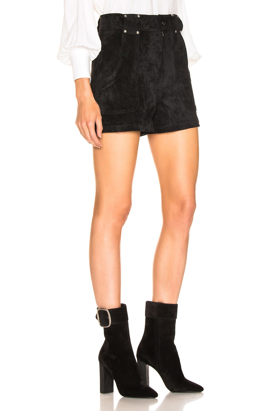 Image 2 of LAUREL & MULHOLLAND Forever Young High Waist Short in Black