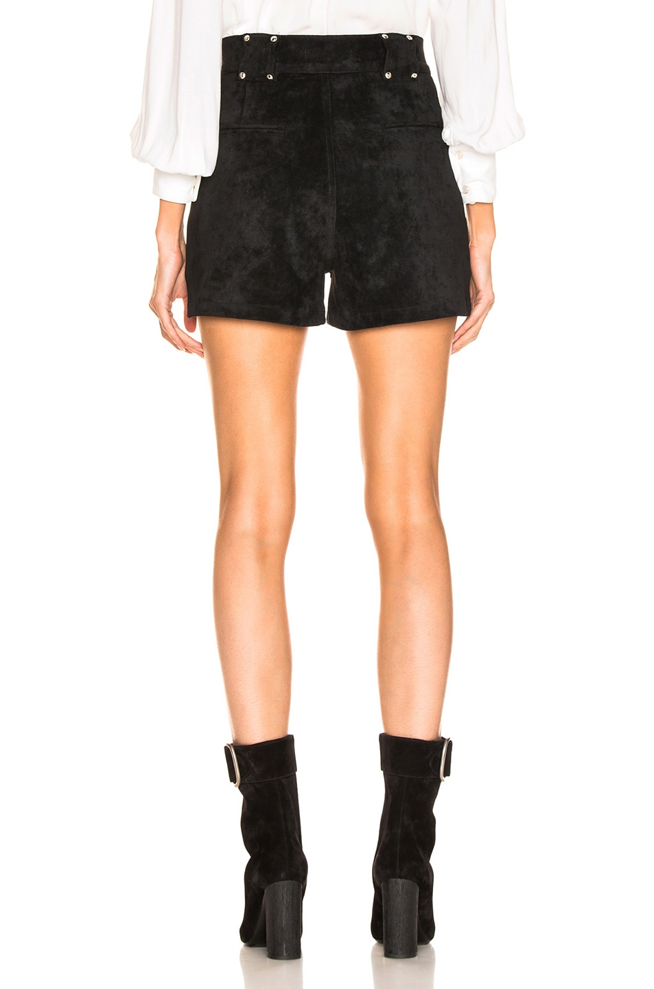 Image 3 of LAUREL & MULHOLLAND Forever Young High Waist Short in Black