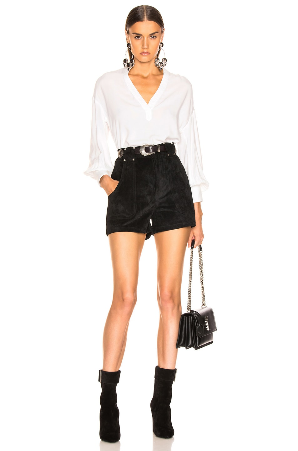 Image 4 of LAUREL & MULHOLLAND Forever Young High Waist Short in Black