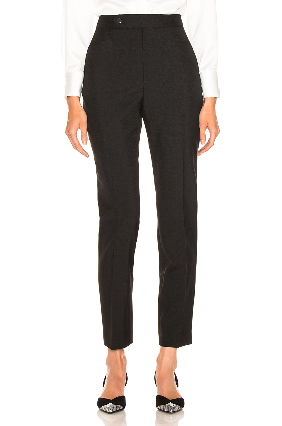 Image 1 of LAUREL & MULHOLLAND Anita High Waist Trouser in Black