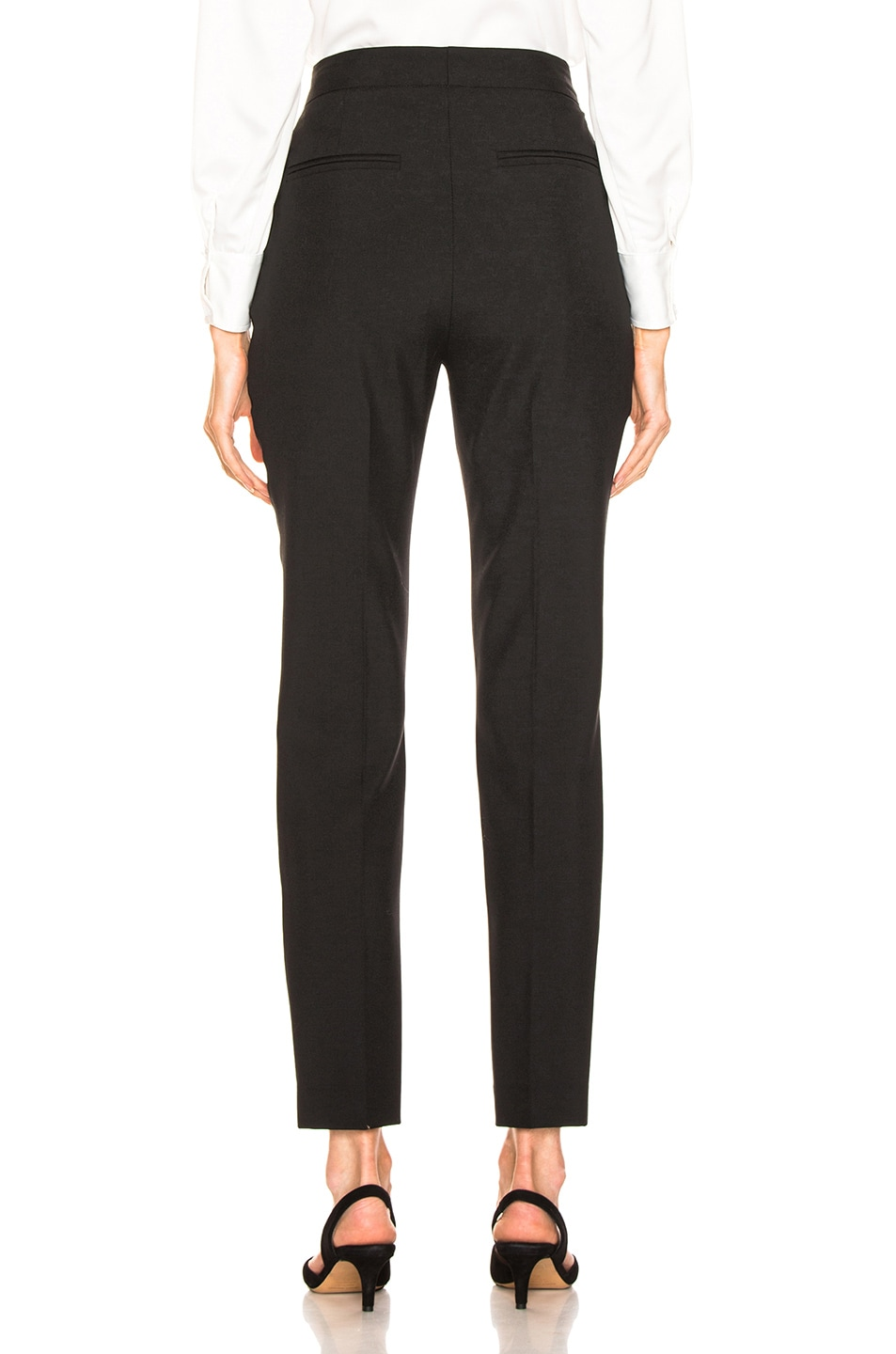 Image 3 of LAUREL & MULHOLLAND Anita High Waist Trouser in Black