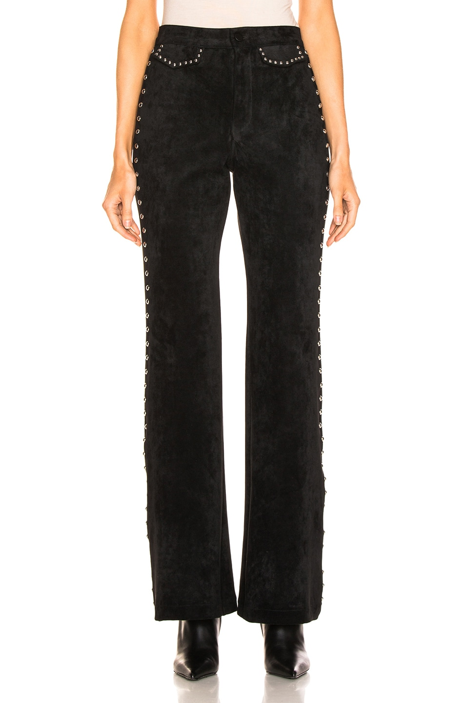 Image 1 of LAUREL & MULHOLLAND Gypsy Thieves High Waist Pant in Black