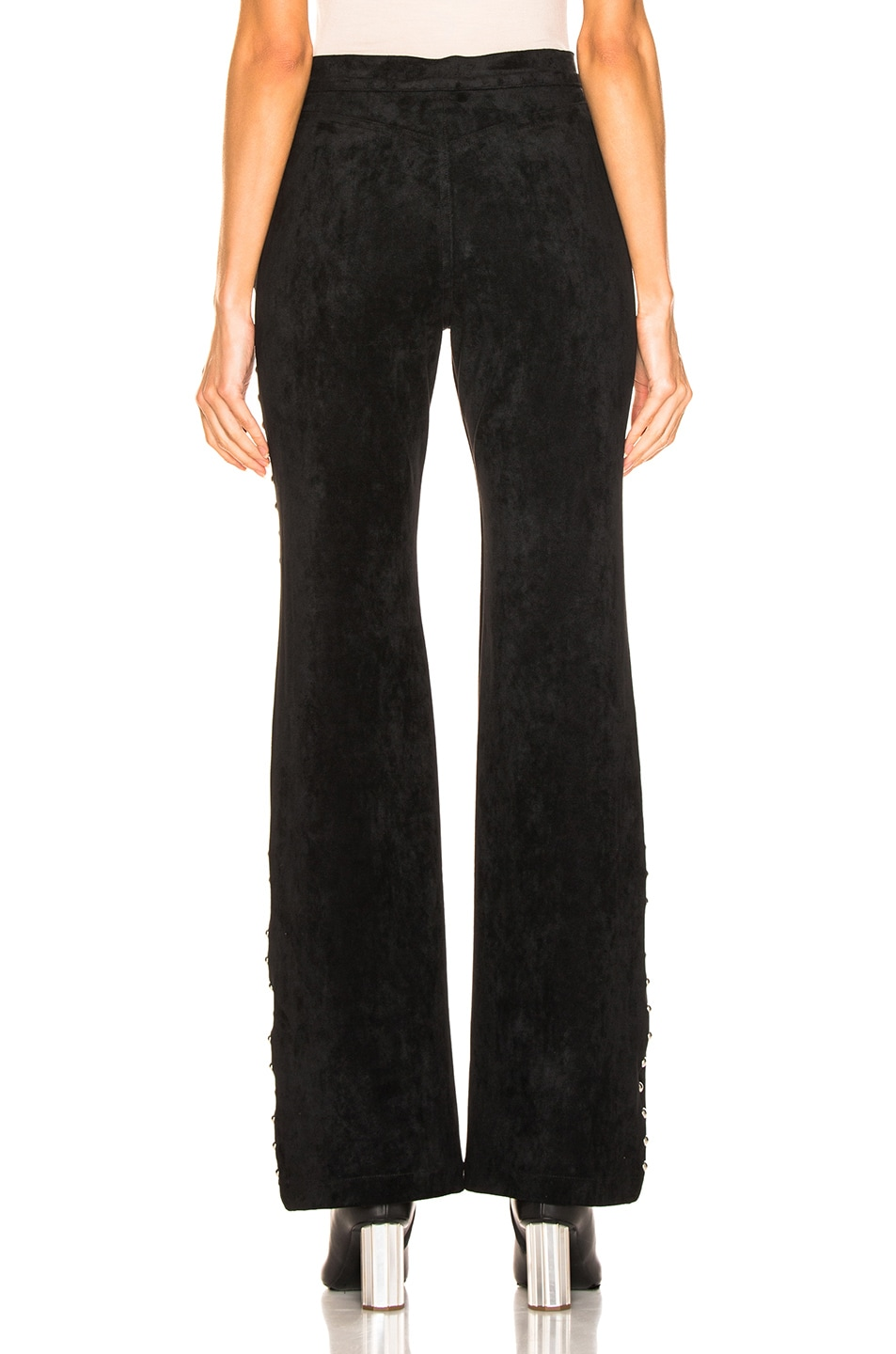 Image 3 of LAUREL & MULHOLLAND Gypsy Thieves High Waist Pant in Black