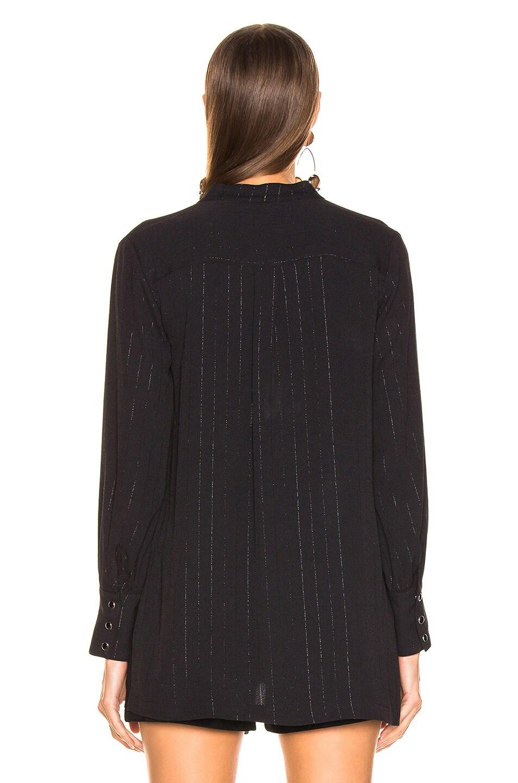 Image 3 of LAUREL & MULHOLLAND Electric Jesus Tunic Top in Black