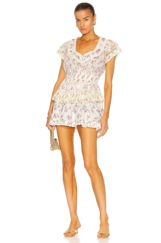Image 1 of LoveShackFancy Jeromie Dress in Fruit Bliss