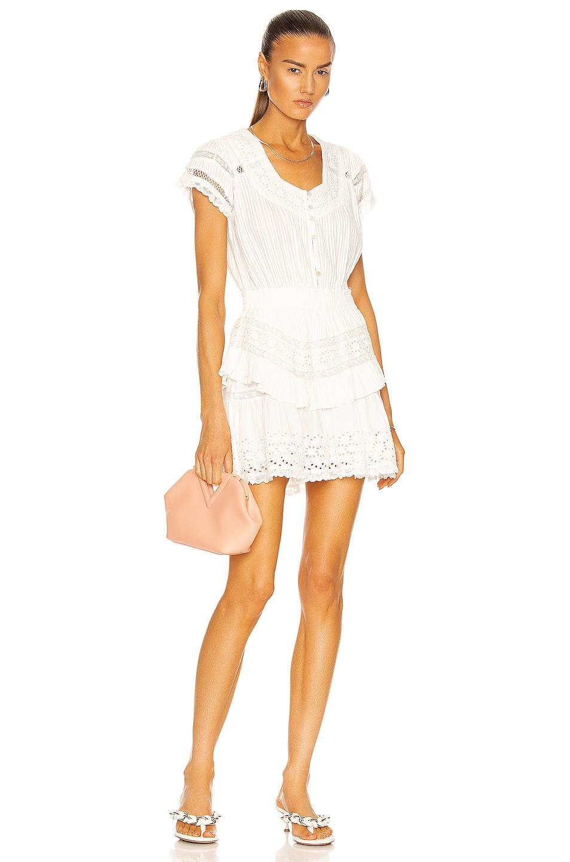 Image 1 of LoveShackFancy Jeromie Dress in True White
