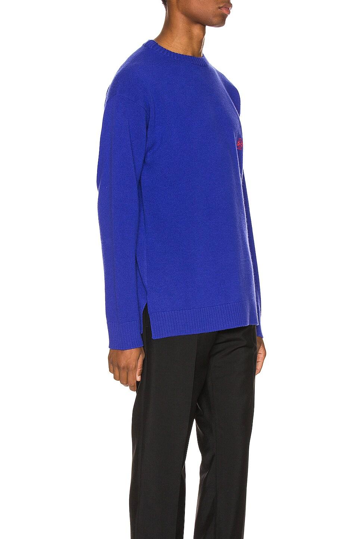 Image 2 of Loewe Anagram Sweater in Blue