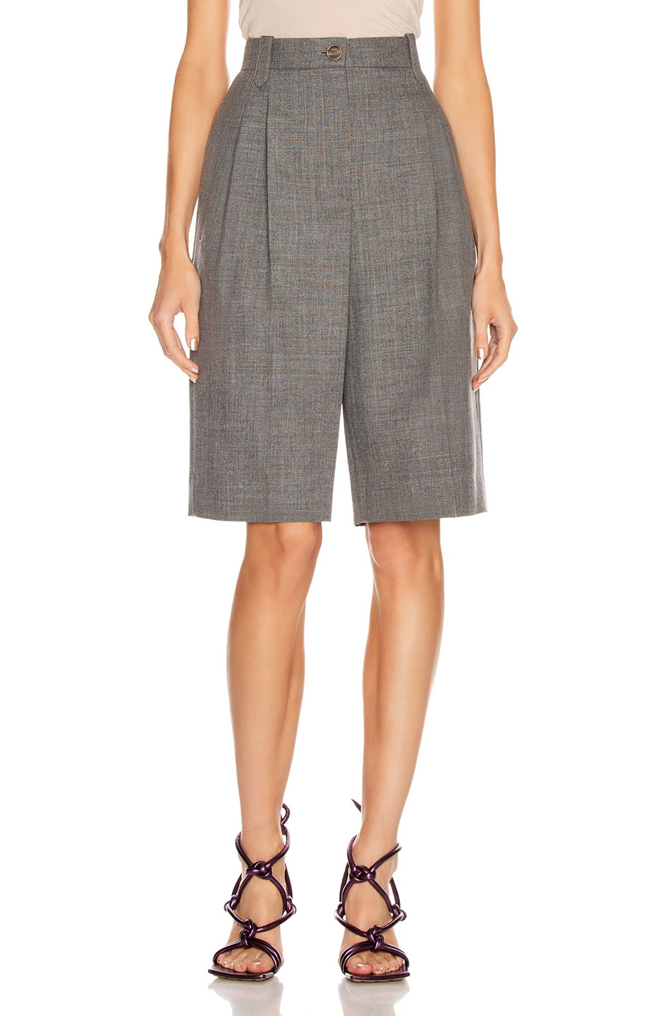 Image 1 of Loewe Trouser Short in Grey