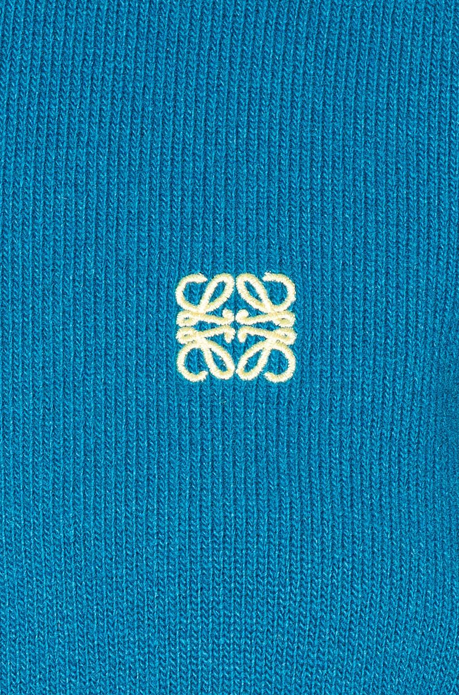 Image 5 of Loewe Short Anagram Sweater in Cobalt Blue
