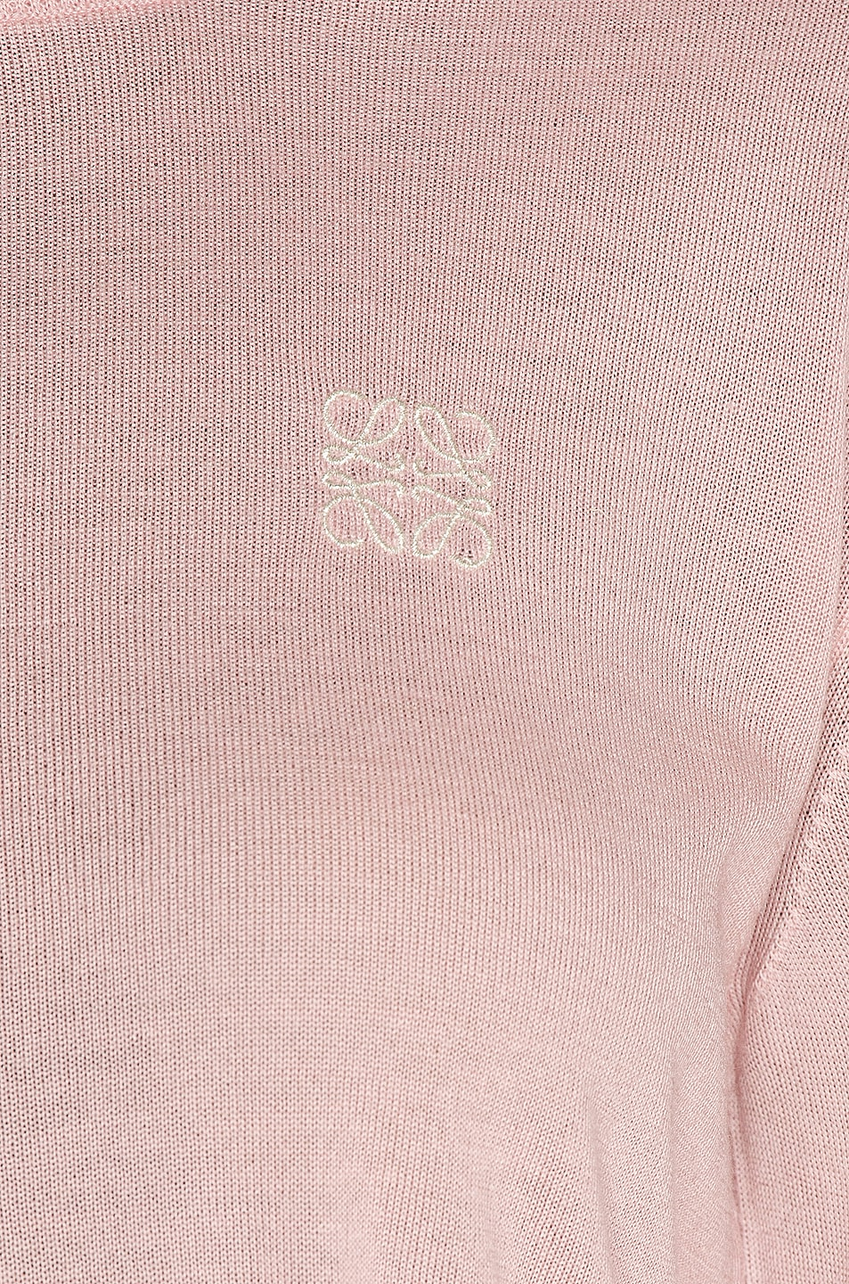 Image 6 of Loewe Anagram Sweater in Baby Pink