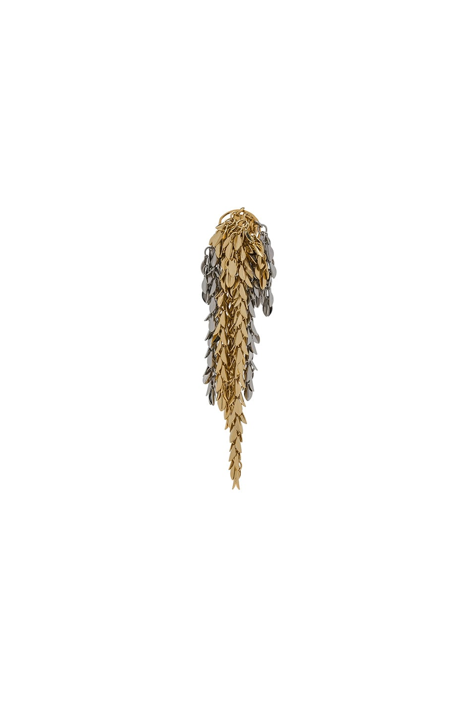 Image 1 of Loewe Chain Earring in Gold & Palladium