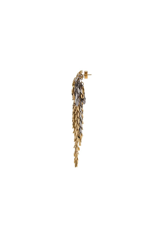 Image 2 of Loewe Chain Earring in Gold & Palladium