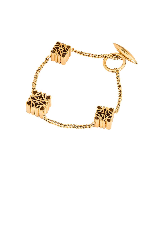 Image 1 of Loewe Anagram Bracelet in Gold