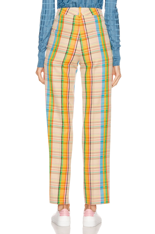 Image 3 of Loewe Check Trouser in Mutlicolor
