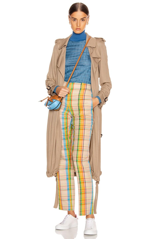 Image 4 of Loewe Check Trouser in Mutlicolor