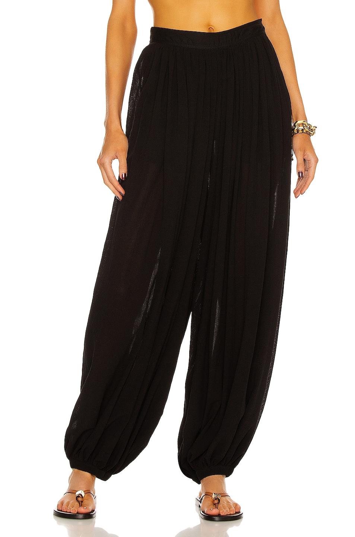 Image 1 of Loewe Paula's Ibiza Balloon Trouser Pant in Black