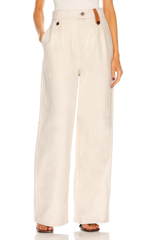 Image 1 of Loewe Flare Pant in Desert