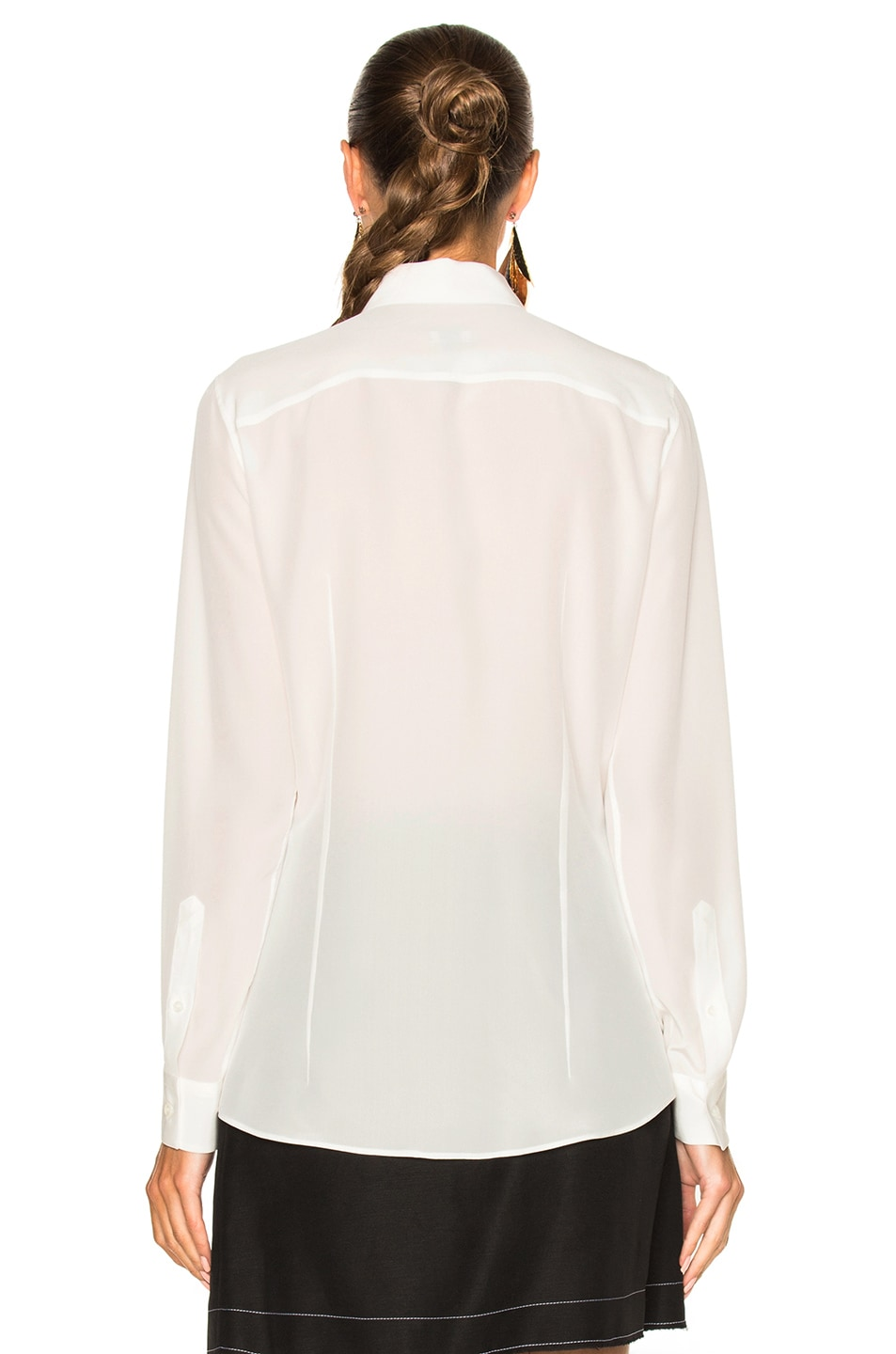 Image 4 of Loewe See You Later Shirt in White