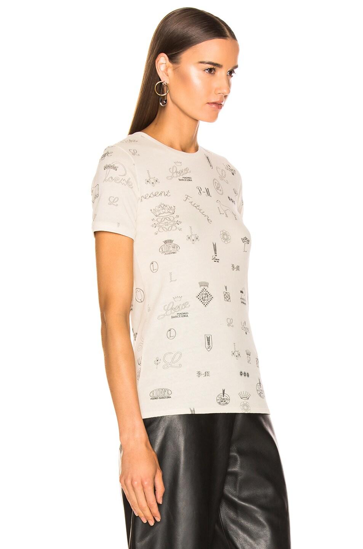 Image 3 of Loewe Logo T Shirt in Calico
