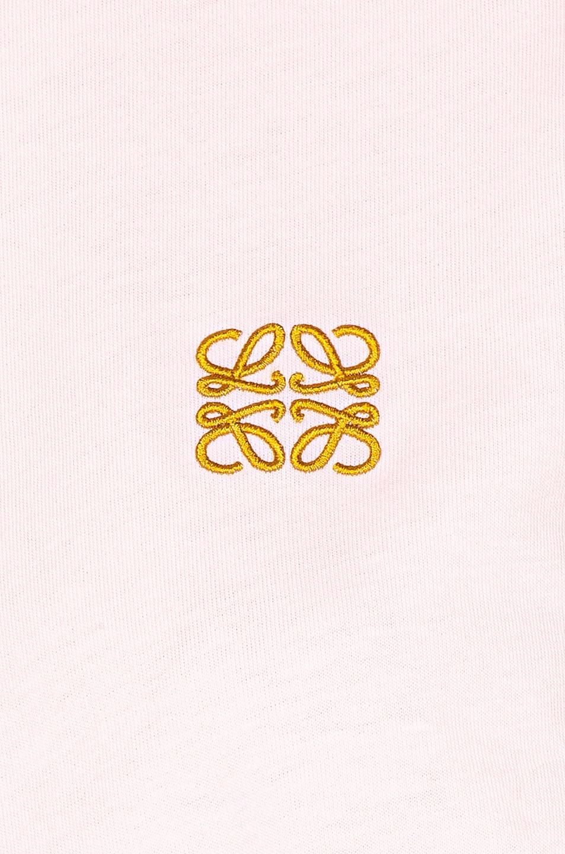 Image 6 of Loewe Asymmetric T Shirt in Pale Pink