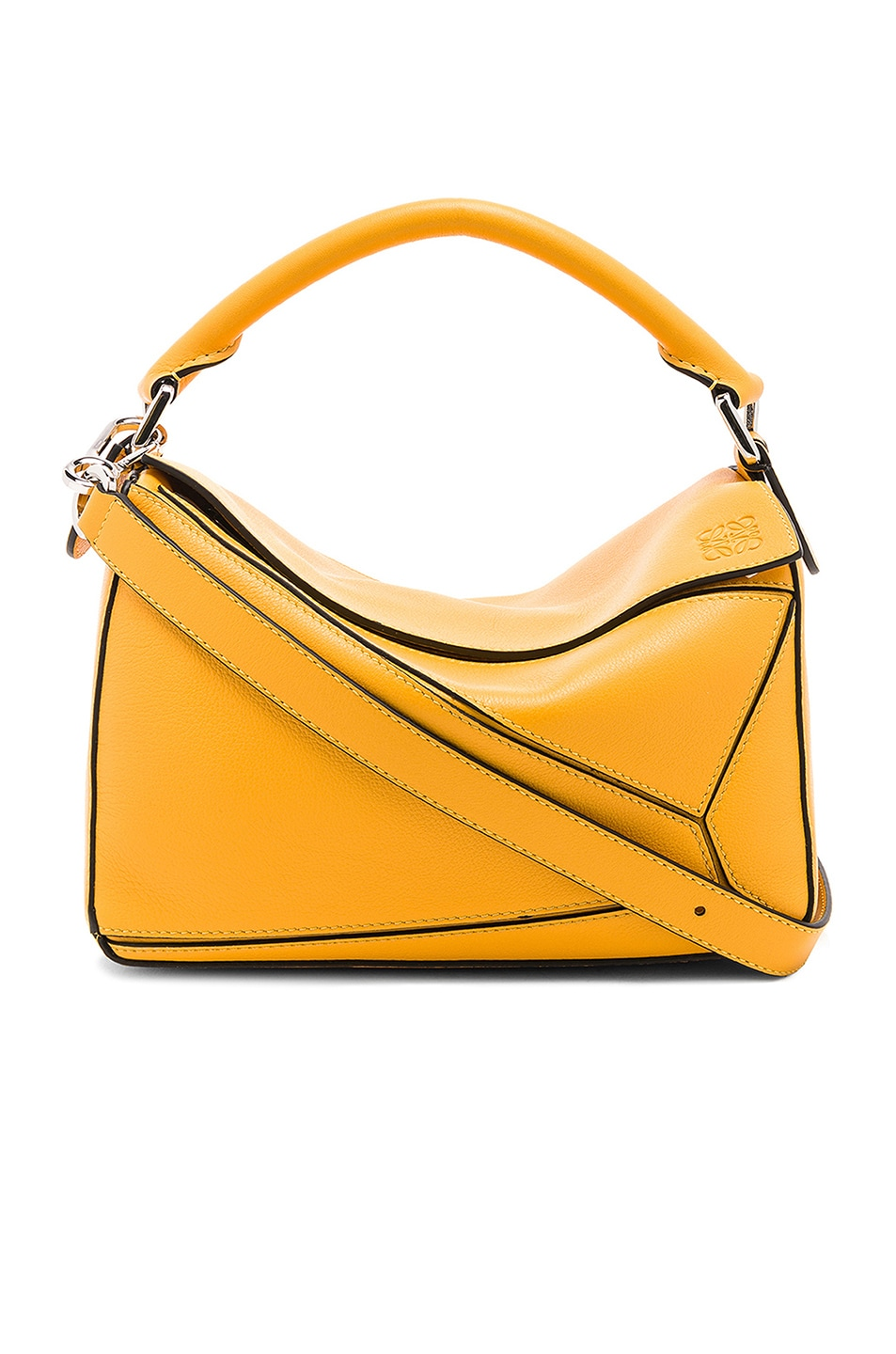60a64e76bf Image 1 of Loewe Puzzle Small Bag in Yellow Mango