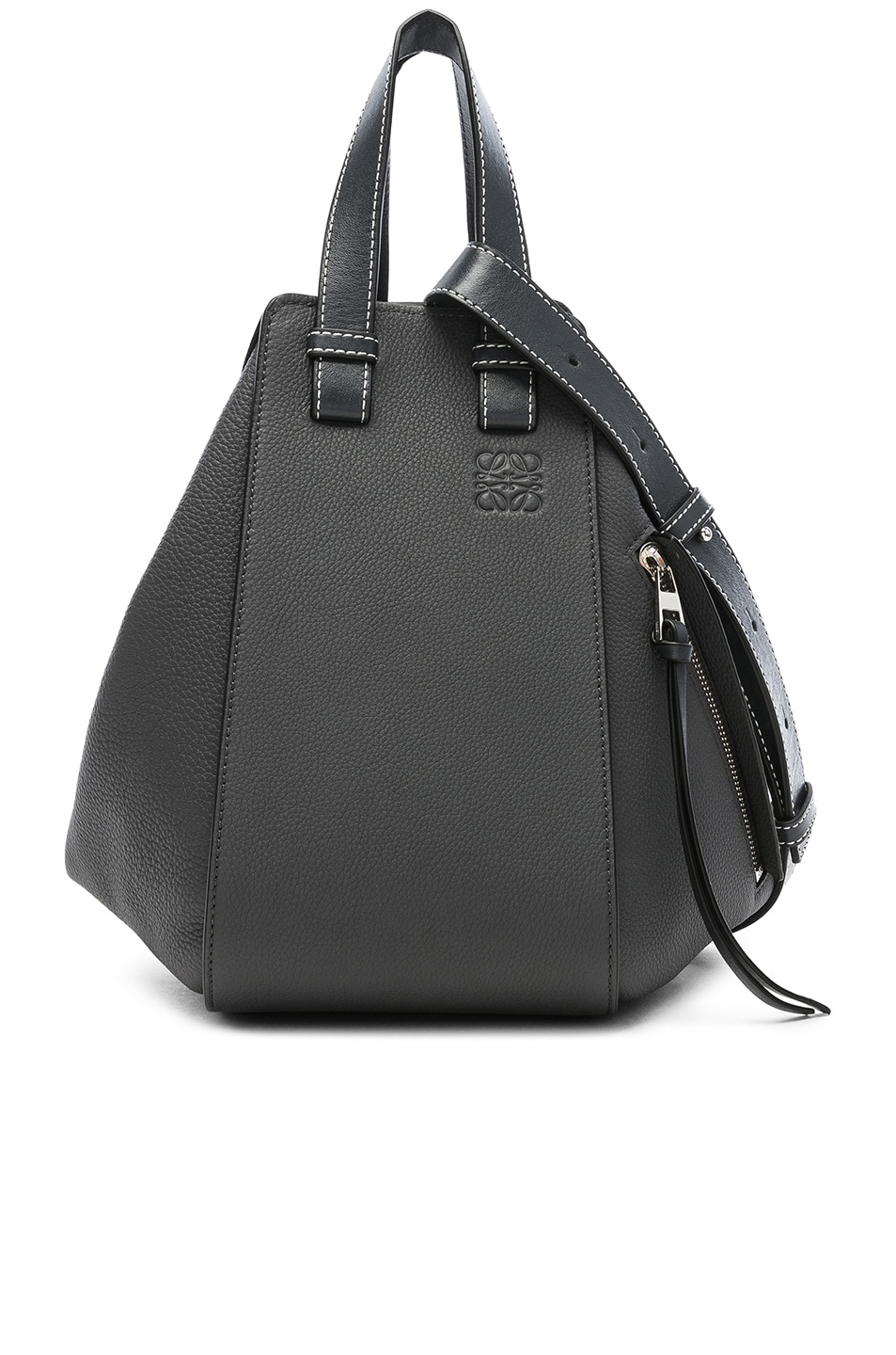 Image 1 of Loewe Hammock Small Bag in Anthracite