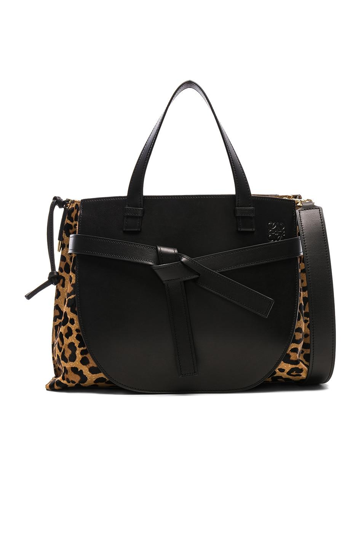 388810fc47 Image 1 of Loewe Gate Top Handle Bag in Leopard Print
