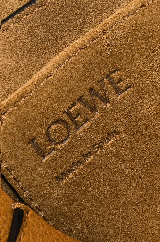 Image 8 of Loewe Gate Small Bag in Light Caramel & Pecan Color