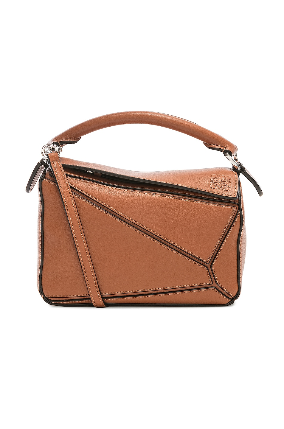 Image 1 of Loewe Puzzle Mini Bag in Tan