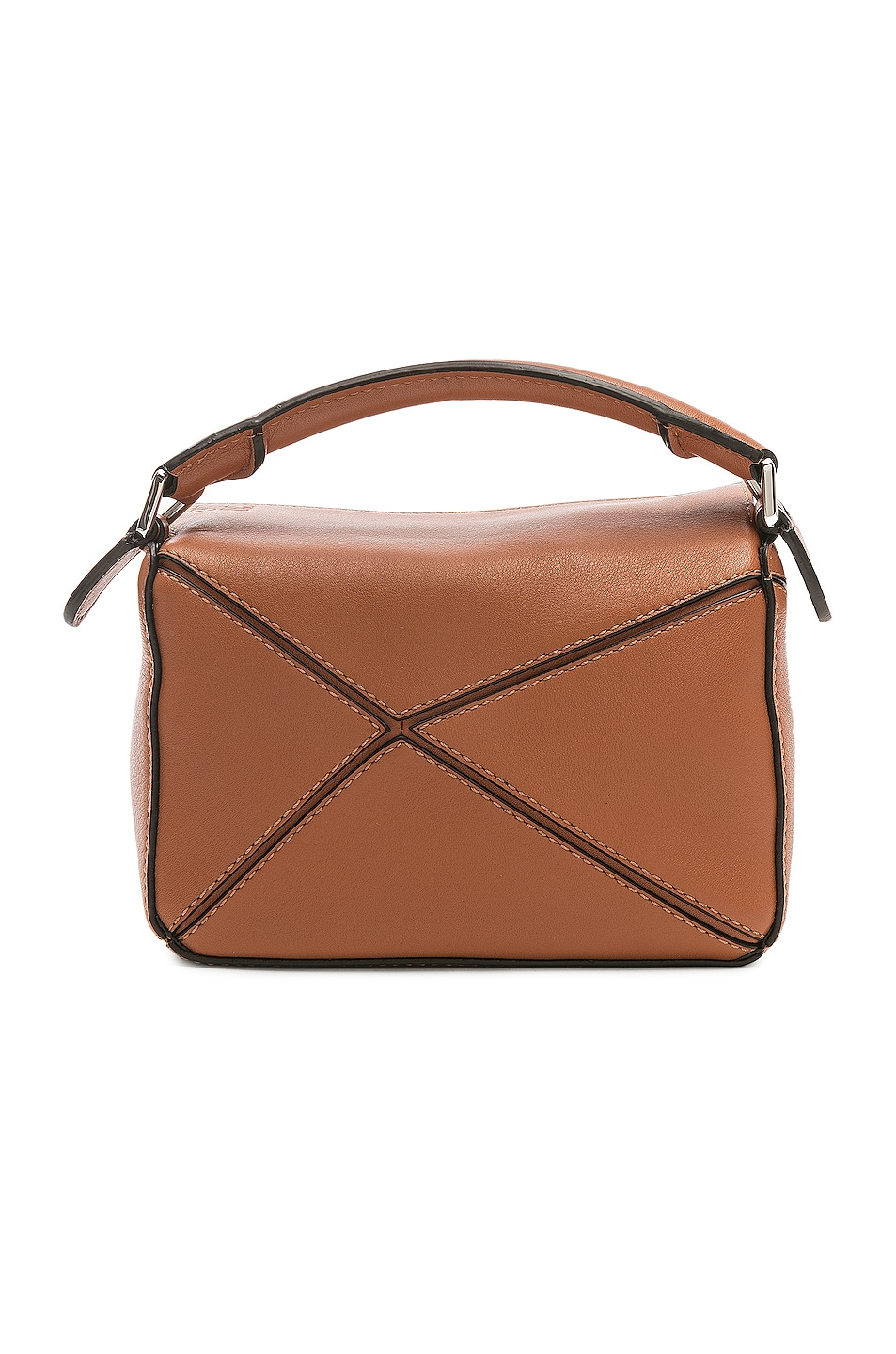 Image 3 of Loewe Puzzle Mini Bag in Tan