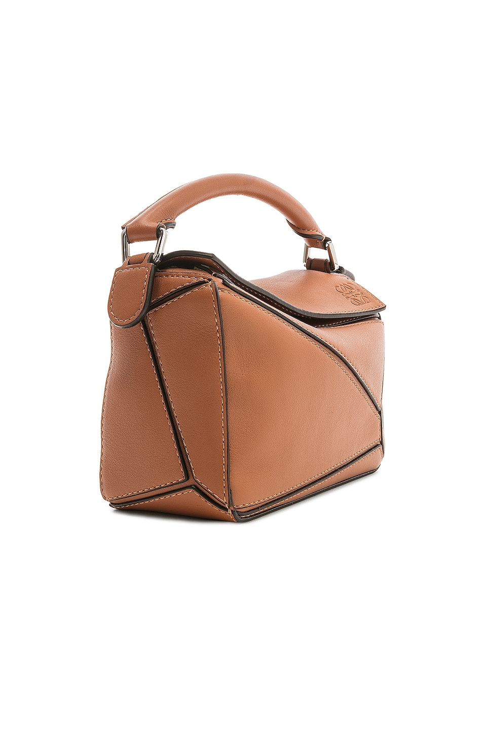 Image 4 of Loewe Puzzle Mini Bag in Tan