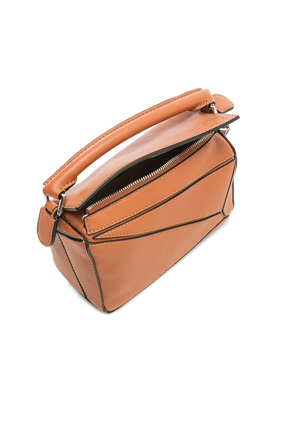Image 5 of Loewe Puzzle Mini Bag in Tan