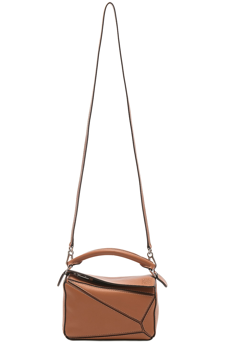 Image 6 of Loewe Puzzle Mini Bag in Tan
