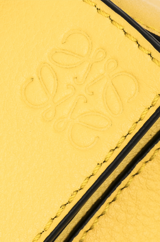 Image 8 of Loewe Puzzle Mini Bag in Yellow