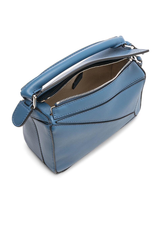Image 5 of Loewe Puzzle Mini Bag in Varsity Blue