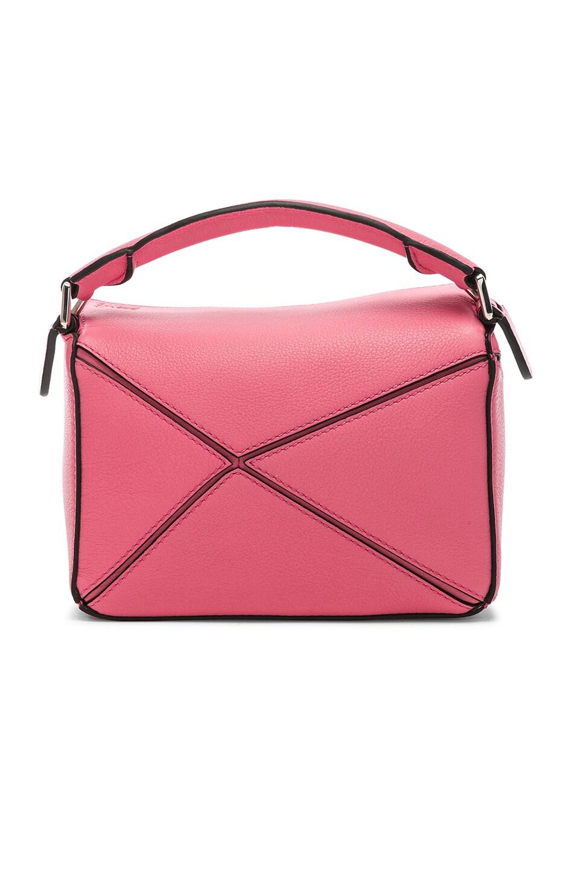 Image 2 of Loewe Puzzle Mini Bag in Wild Rose