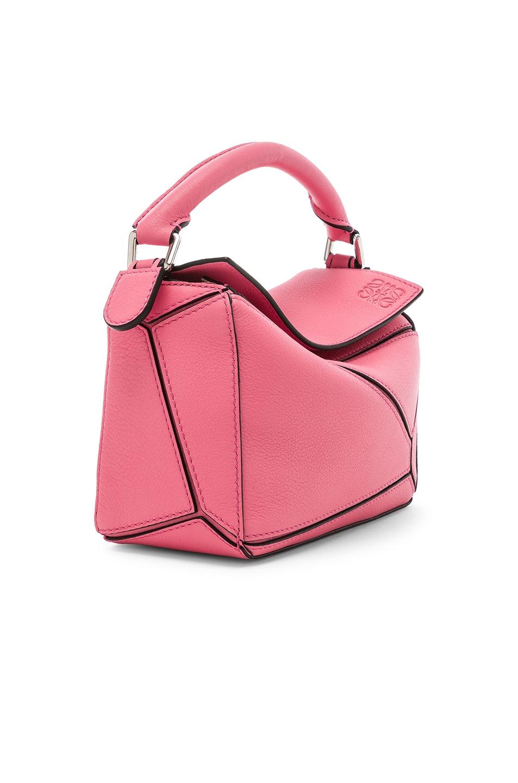 Image 3 of Loewe Puzzle Mini Bag in Wild Rose