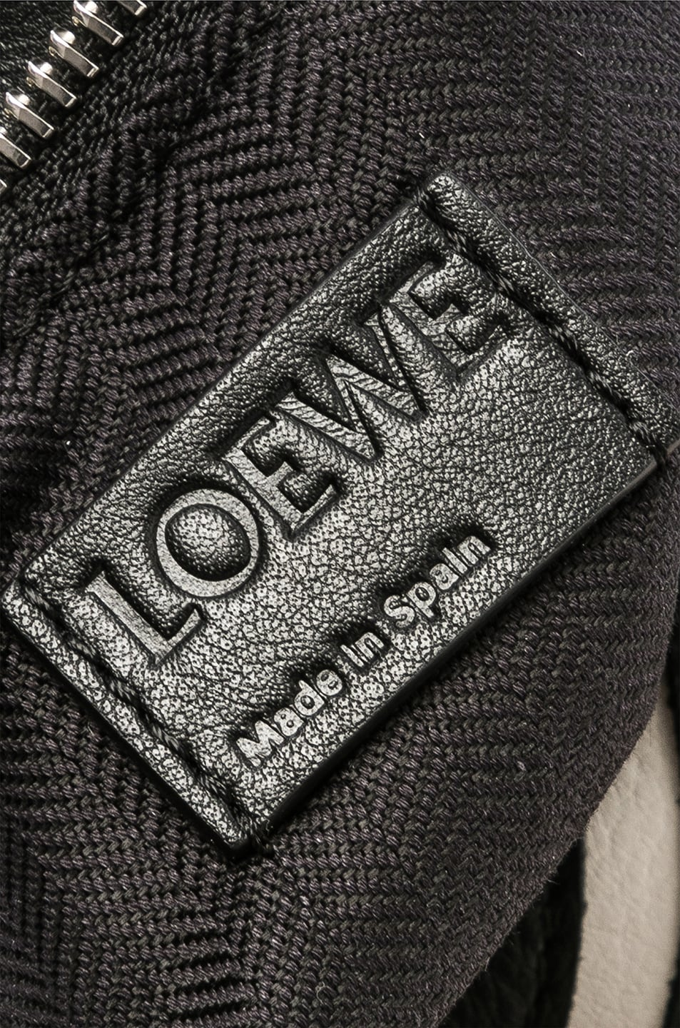 Image 7 of Loewe Puzzle Small Roses Bag in Black & White