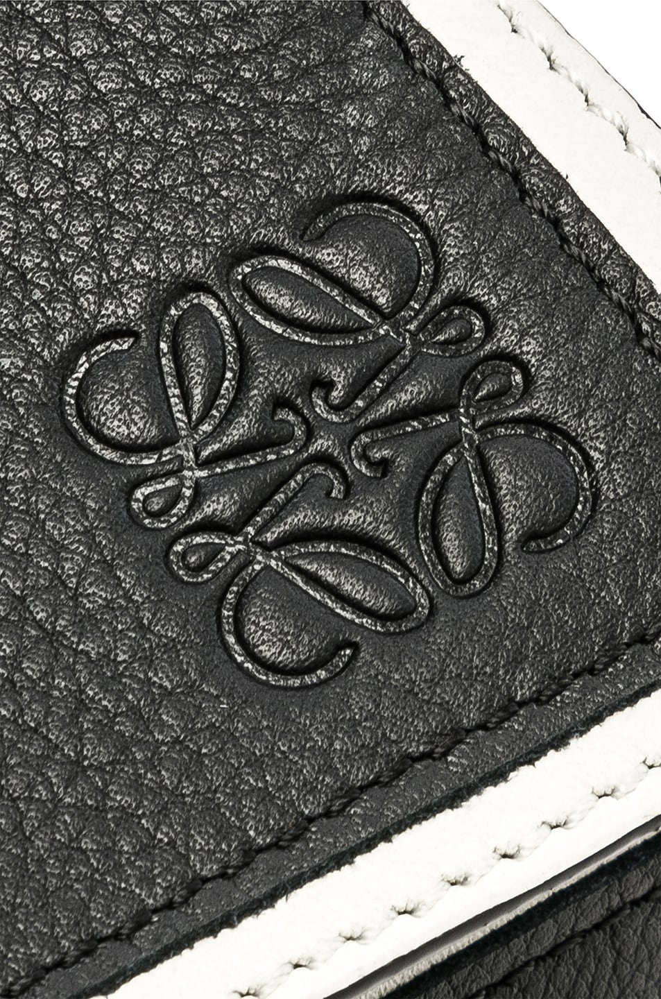 Image 8 of Loewe Puzzle Small Roses Bag in Black & White