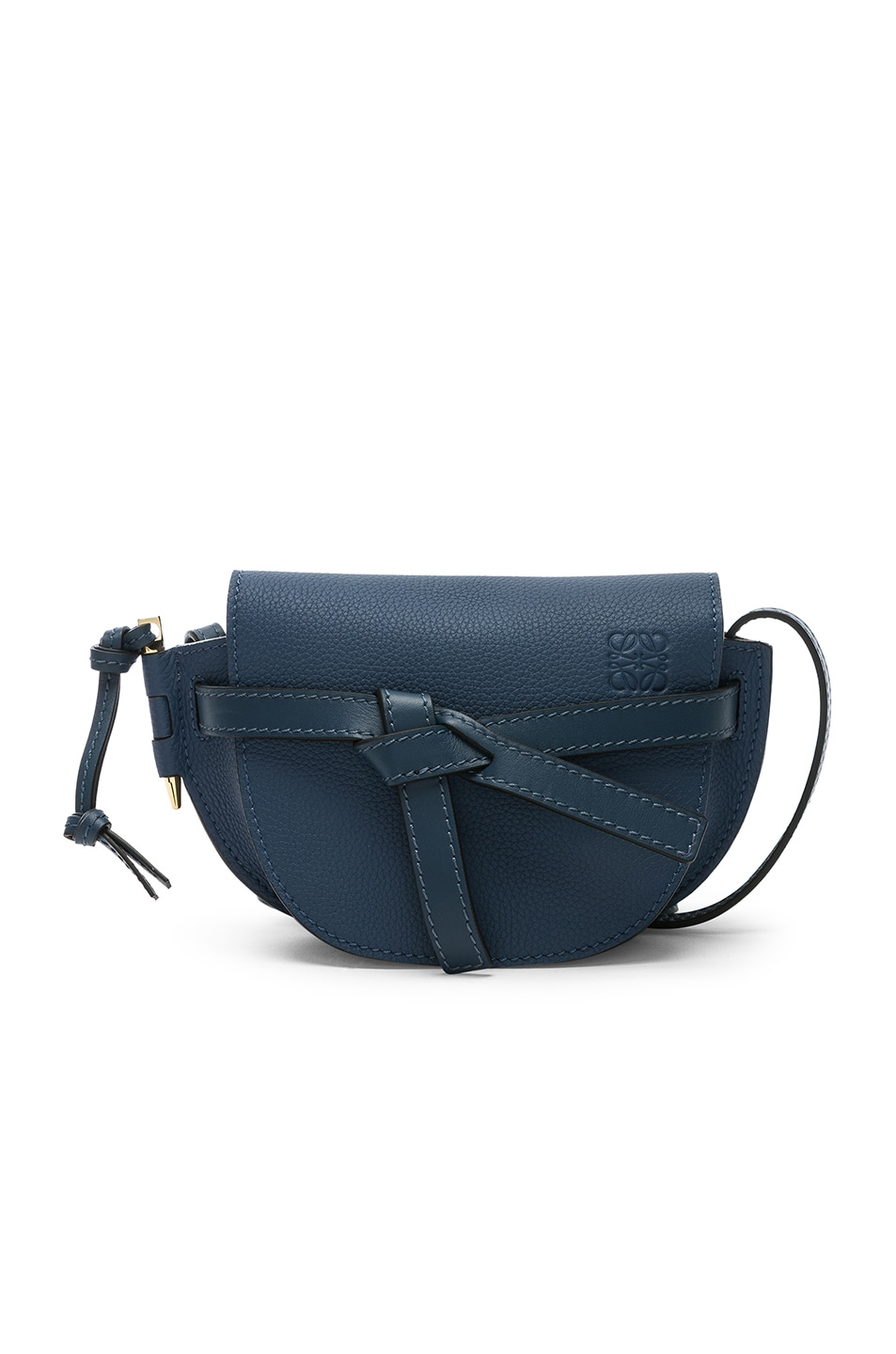Image 1 of Loewe Gate Mini Bag in Varsity Blue & Indigo