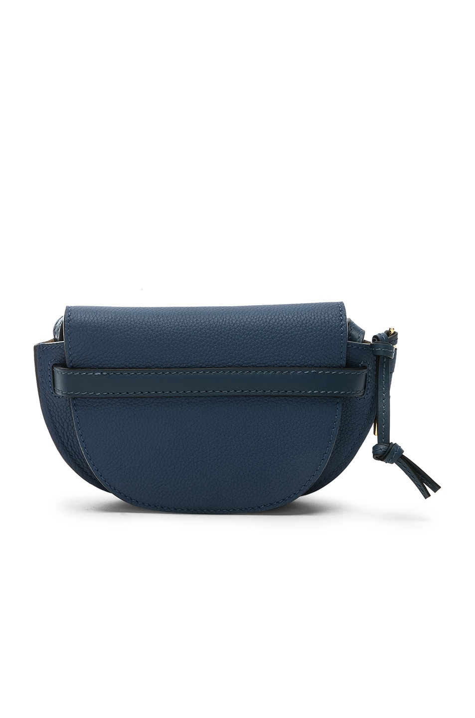 Image 2 of Loewe Gate Mini Bag in Varsity Blue & Indigo